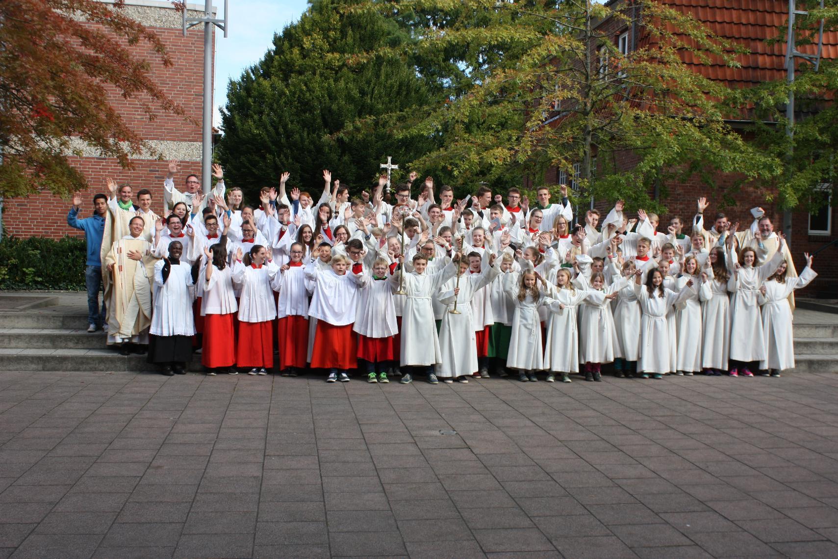 Dominikanerkonvent Vechta, Messdiener